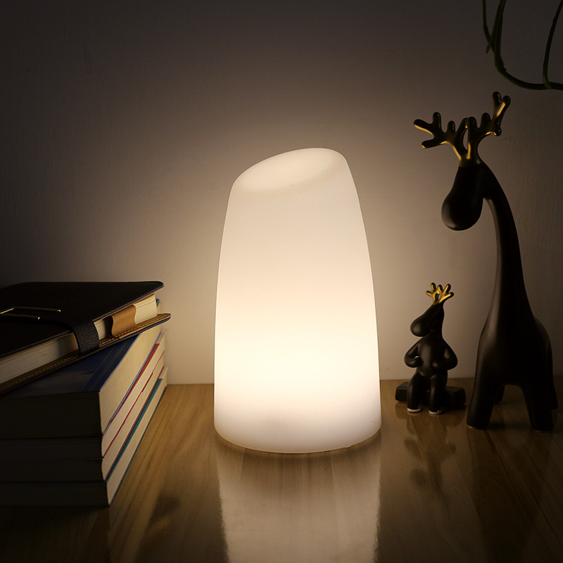 LED Cylinder Table Night Light Chargeable Cordless Illuminate Remote  Control Bar Table Lamp Decor For Bedroom Living Room Party  In LED Table  Lamps From ...