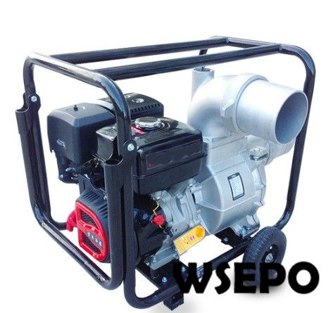 Factory Direct Supply! 6 inch Inlet and Outlet Self-Priming Aluminum Water Pump by 190F 16HP Gas Engine Applied for Drainage factory direct supply inlet 2 5 in outlet 2 in cast iron centrifugal water pump powered by wse 152f 2 5hp gasline engine