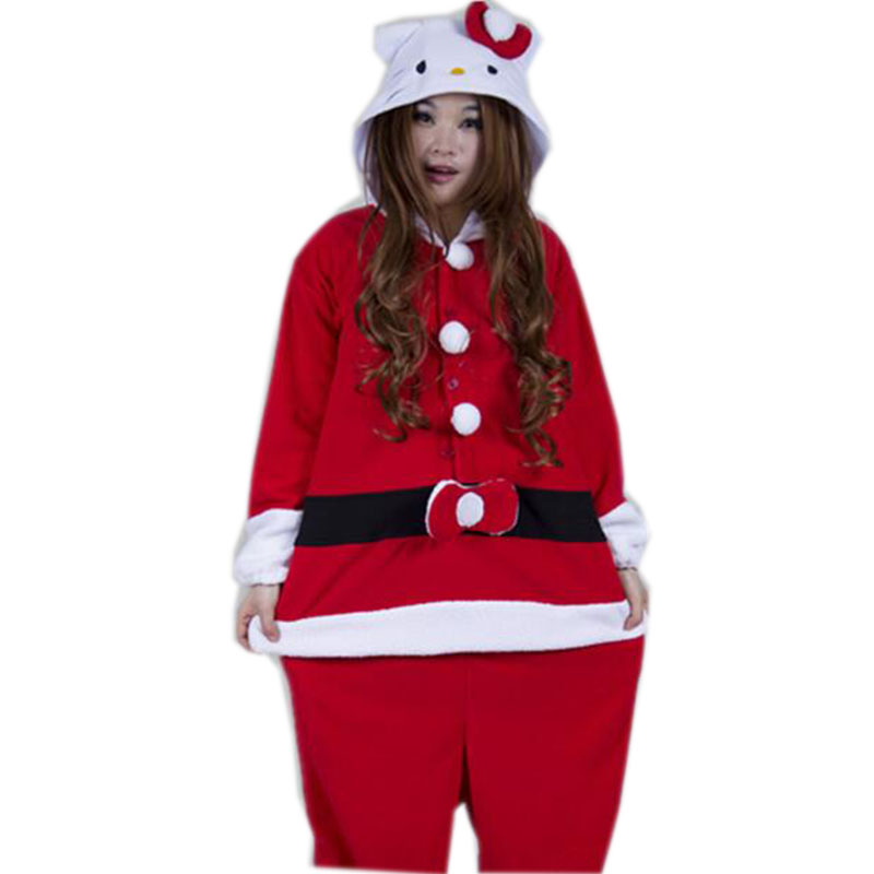 2017 winter animal pajamas adults santa claus onesie mascot christmas halloween cospaly costumes for women men in holidays costumes from novelty special