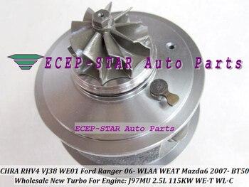 Turbo Cartridge CHRA RHV4 VJ38 VFD20011 WE01 Turbocharger For FORD Ranger 06 WLAA WEAT MAZDA 6