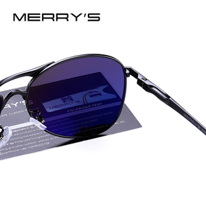 Image 5 - MERRYS DESIGN mężczyźni klasyczne okulary pilotażowe HD polaryzacyjne okulary przeciwsłoneczne dla mężczyzn jazdy luksusowe odcienie ochrona UV400 S8712