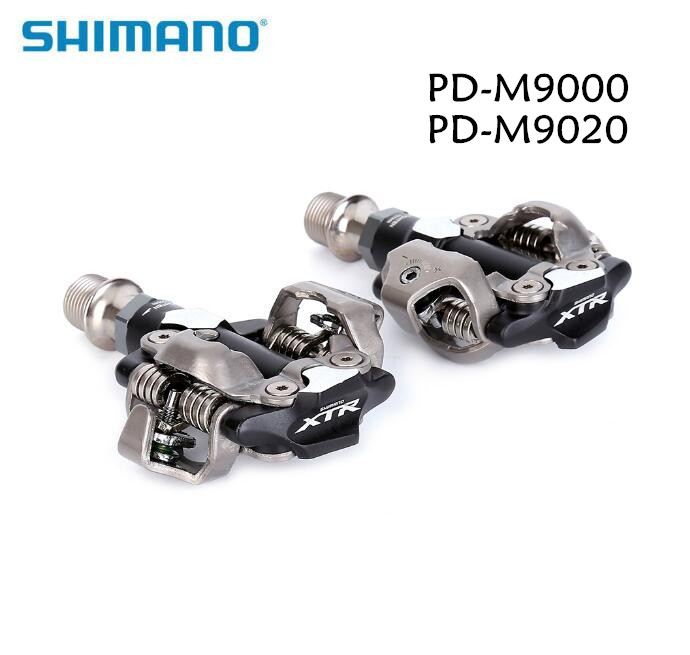 2017 Shimano XTR PD-M9000 PD-M9020 pedal Self-Locking Race Mountain Bike SPD Clipless race Pedals Set & Cleats M9000 M9020 shimano xtr pd m9020 race spd clipless mtb mountain bike pedal cleats ipdm9020 w
