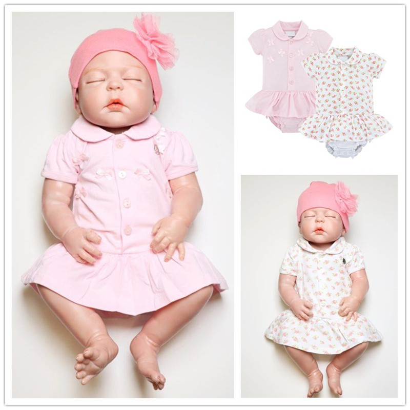 Fashion Newborn Girl Bodysuit Dress Cute Princess Baby Girl Jumpsuit Clothes Lovely Summer Infant Girl Overalls Ruffled Clothes
