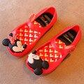 15-18.5 cm Meninas Sandálias Sapatos 2016 Sandálias meninas de Verão Bonito sapatos Meninas Crianças sapatos de Bebê Sapatos Para Menina Mini Sed