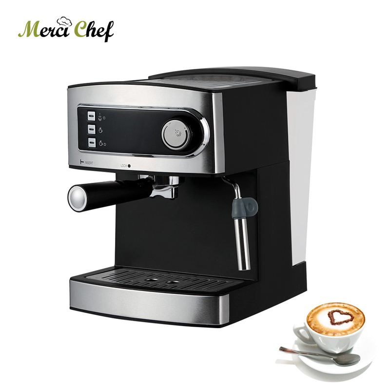 ITOP 20 Bar Espresso Coffee Machine Maker For Home Comercial Milk Bubble Italian Semi-automatic