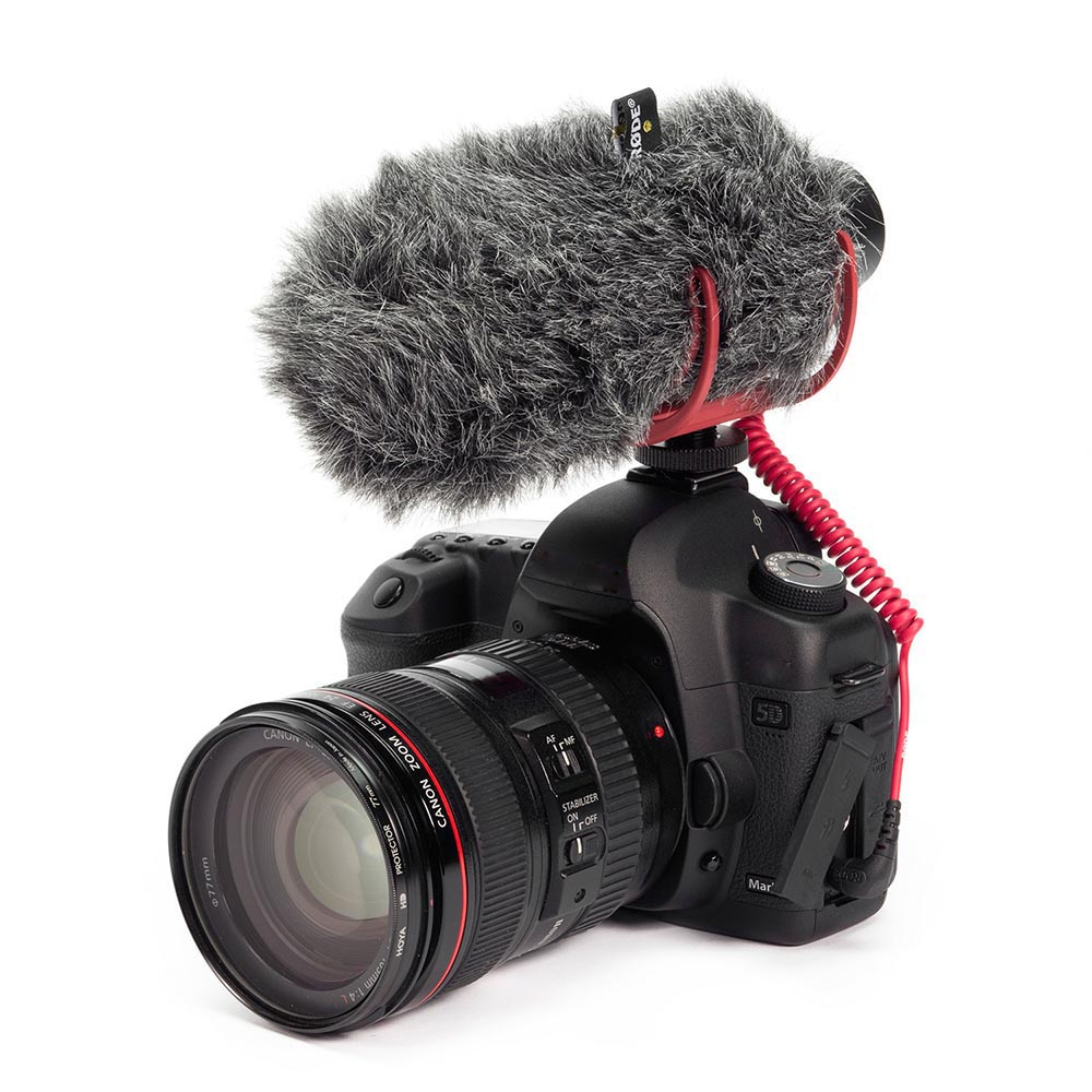For Rode VM GO VideoMic GO On-Camera Microphone Super Cardio For Canon Nikon Sony DSLR DV Camcorder