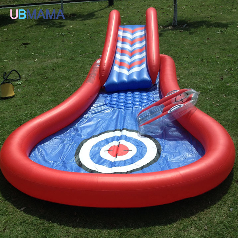 ФОТО baby swimming pool  inflatable play pool marine ball pool thickening of plastic baby swimming water pool slide toy kids piscinas