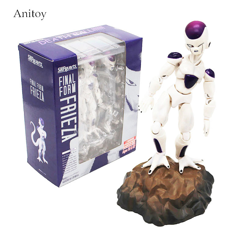 Anime S.H.Figuarts Dragon Ball Z Final Form Frieza PVC Action Figure Collectible Model Toy 12cm KT4182 anime dragon ball z shenlong shenron with balls pvc action figure collectible model toy doll 14cm kt098