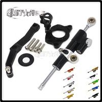 Motorcycle Steering Damper Stabilizer & Bracket For KAWASAKI Z1000 Z 1000 2010 2011 2012 2013 10 11 12 13