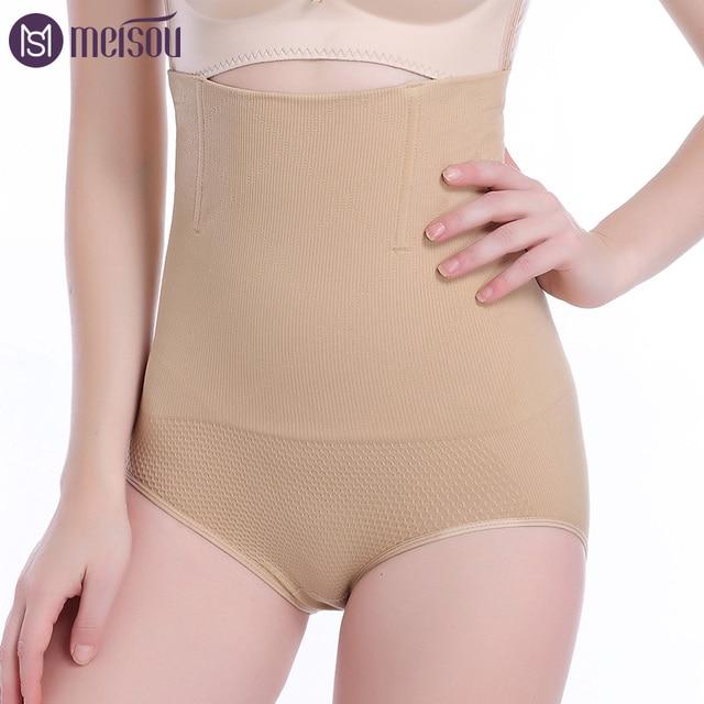89c5fb8375db6 Seamless Women High Waist Control Panties Slimming Tummy Knickers Pants  Briefs Shapewear Magic Body Shaper Lady Corset Underwear