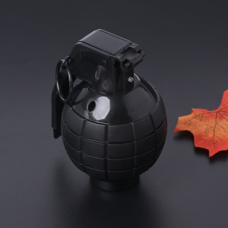 Top Quality Maker Sound And Light Simulation Hand Grenade Jokes Gags Pranks Tricky Toy Kids