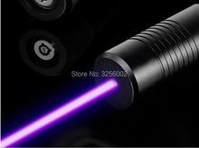 Discount! AAA NEW 10000mw 10W 450nm Blue laser pointer Flashlight Lazer Burning match/dry wood/candle/black,Burn Cigarettes+Glasses+Gift