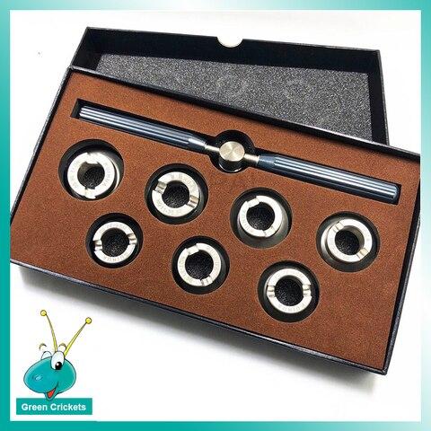 Relógio de Volta Abridor para Rlx Assista Volta Case Opener Morre Definir Tamanho Maior Relógios Repair Tool 7 Rp.5537-l Pçs – Set