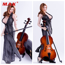 1/6 Scale Action Figure Scene Accessories Cello Model Musical Instruments for 12 inches Figures