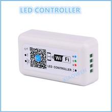 LED Контроллер DC12-24V МИНИ СВЕТОДИОДНЫЙ RGB Контроллер WI-FI для Iphone, Ipad, IOS/Android Мобильного Телефона Беспроводное управление для RGB LED газа