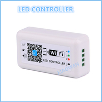 LED Controler DC12-24V MINI LED WIFI RGB Controller for Iphone,Ipad,IOS/Android Mobile Phone Wireless control for RGB LED Strip