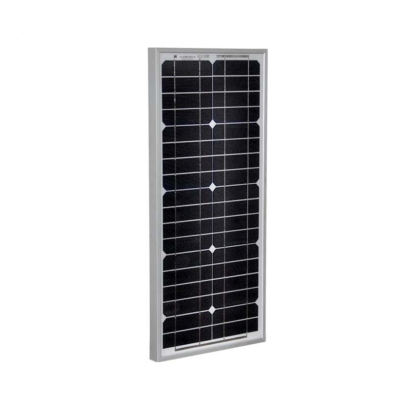 All New Solar Panel 12v 20w Monocrystalline Solar Battery Charger China Solar Light Lamp LED Camp Car Caravan Phone Marine