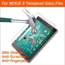 2.5D For LG GOOGLE NEXUS 9 Tempered Glass Original 9H Protective Film Explosion-proof Screen Protector for GOOGLE NEXUS 9