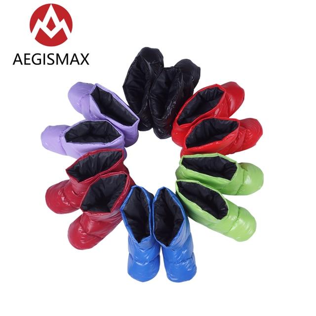 Aegismax Unisex Camp Warm Soft Down Slippers Socks 6 colors