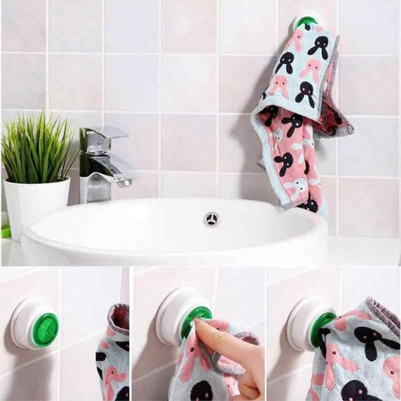 Creative Self-Adhesive Towel Clip Multi Use Cloth Clip Towel Clip Towel Hook Kitchen Towel Hook Bathroom Organize Rack