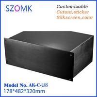 1 piece DIY electrical junction box case for electronics design PCB hardware device instrument enclosure 178*482*320mm