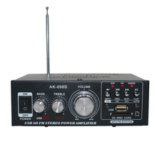 Аудио hi-fi цифровой Усилители домашние стерео сабвуфер бас Усилители домашние 2.1 канала для автомобиля мотоцикла Радио плеер с Дистанционное управление