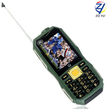 ZOYU C12 land rove d'affaires téléphone les lampes de poche téléphone pour senior téléphone 11800 puissance banque 2 3gdual sim double veille mobile téléphones