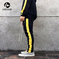 HZIJUE Pants Casual Sweatpants Solid Hip Hop High Street Trousers Pants Men Joggers Oversize Brand High