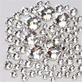 SS3 4 5 6 8 10 Cristal SS12 Branco Claro Não Strass Hotfix Strass Unhas para Unhas Nail Art Decoração de Unhas Salão de Beleza