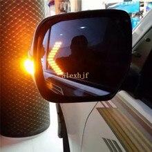 Varthion Зеркало Заднего Вида Объектива Чехол для Toyota Land Cruiser, большое Поле, с антибликовым покрытием, синий Зеркало, включать Свет, Тепло Запотевания