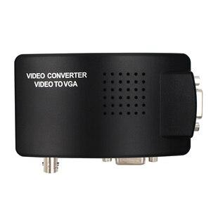 Image 2 - BNC VGA Composite S Video to VGA Converter Video Converter VGA Output Adapter Digital Switch Box for PC Mac TV Camera DVD DVR