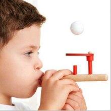 Мяч для жонглирования детей, плавающая игра, игрушка для выдува, Спорт на открытом воздухе, креативный баланс труб, подарок для детей, развивающие игрушки