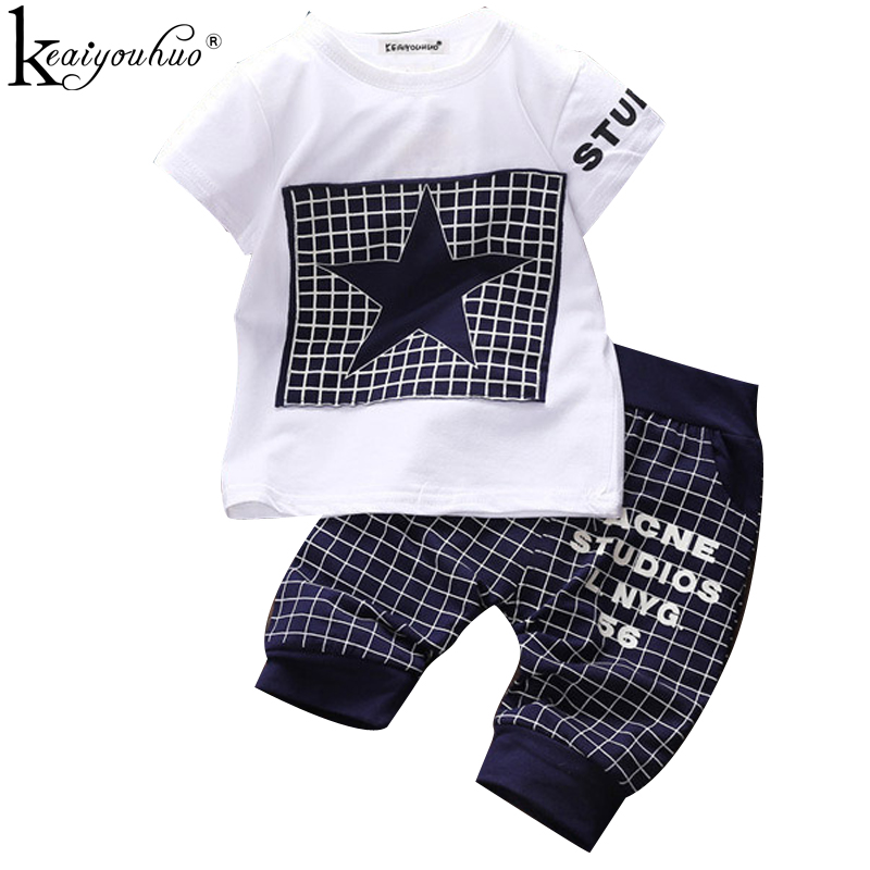 KEAIYOUHUO Baby Boy Kids Clothes 2pcs Clothing Sets