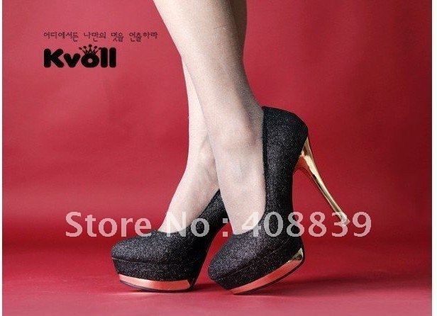 Free shipping!hot selling!woman's New shoes single shoes euramerican High-heeled shoes woman's Leisure shoes#5
