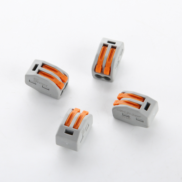PCT 212 Wire Connector Universal Flex wire junction box terminals 2 ...