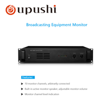 OUPUSHI A-8610 Broadcast device detector with built-in active monitor horn for pa system