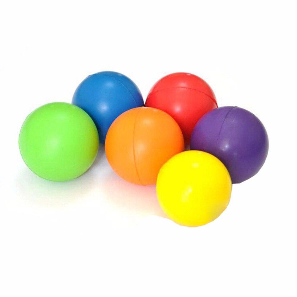 Outdoor Fun & Sports 7cm Colorful Stress Fidget Hand Relief Squeeze Foam Squish Balls Kids Toy Reusable Stress Relief Ball Great Varieties Toy Balls