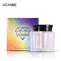 UCANBE Brand Crystal Luster Glitter Eyeshadow Loose Powder Makeup Nude Waterproof Long Lasting Metallic Eye Shadow Cosmetics