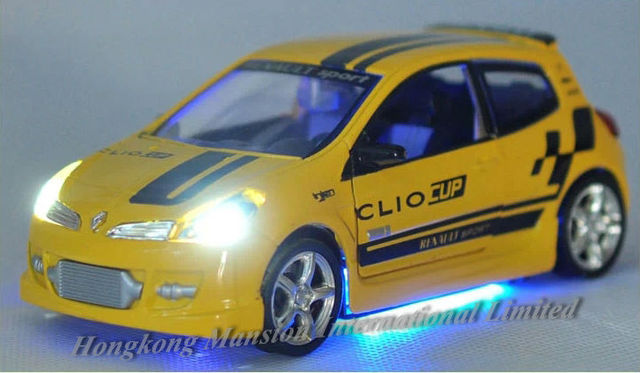 1 32 Scale Alloy Diecast Car Model For Renault Clio Iii Rs
