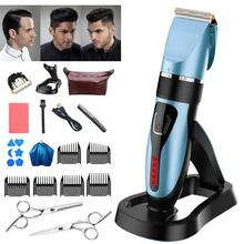 Waterproof Multi-function Professional Electric Hair Clipper Set 5-gear Free Ajustment USB Charging Hair Trimmer Electric Cutter dp24 pa14 5 gear hob cutter