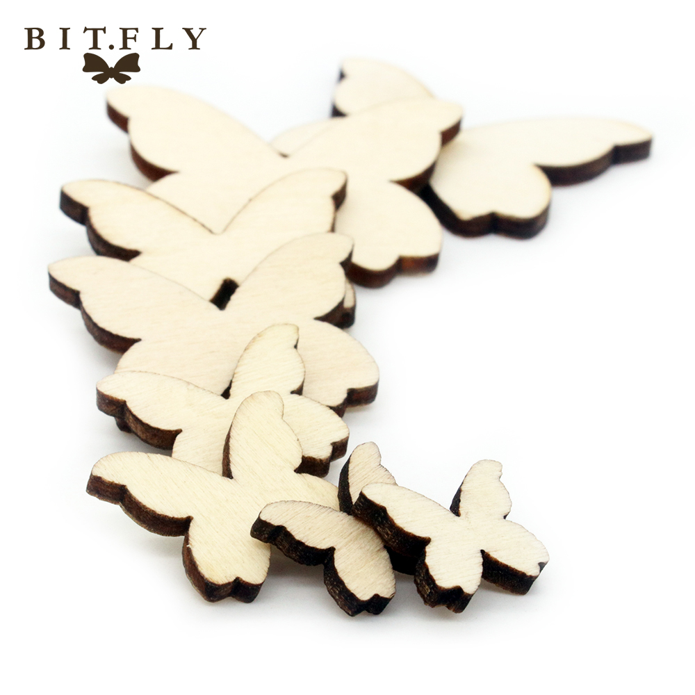 100pcs Love Heart Pattern Wooden Diy Children For Table Bottle Wall Pictures Home Decoration Rustic Wedding