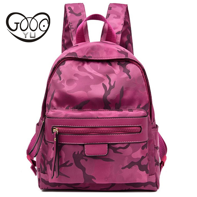 Fashion Backpack Women Luxury Famous Brand Designer Backpack Ladies Women Backpack Waterproof Nylon Crossbody Bags