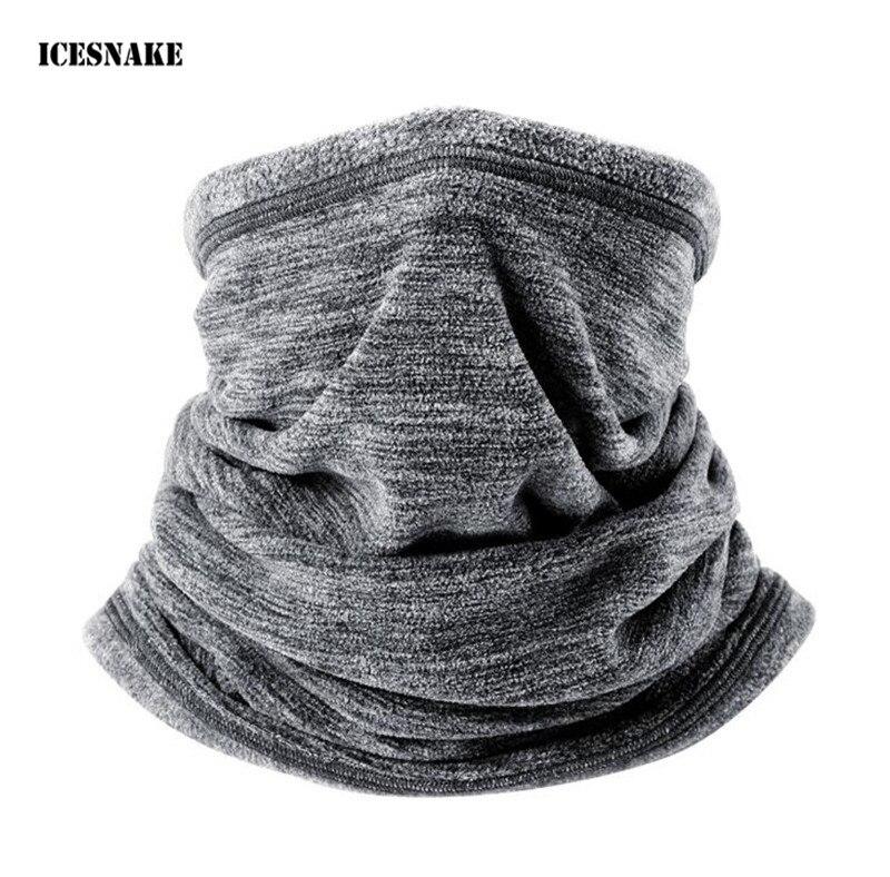Multifunction Wool Fleece Thermal Neck Gaiter Warmer Tube Face Mask Snowboard Balaclava Scarf Hats Cap Headband Bandana Headwear