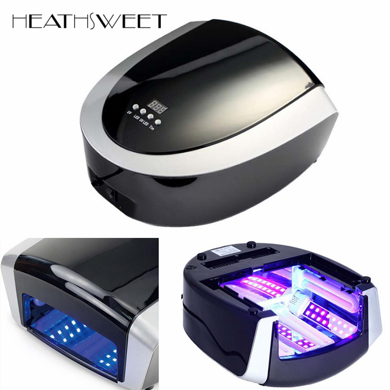 Healthsweet Professional Gel Nail Dryer Machine 66W LED UV Lamp 220V EU Plug Led Nail Lamp Curing Light Art Nail Manicure Tools 2 in1 effecient 66w led uv light nail art tools equipment dryer gel curing lamp 110 240v 365nm uv bulbs dhl shipping