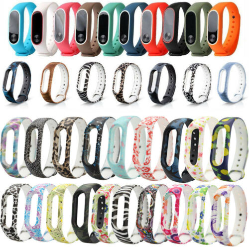 Watchbands Silicone Bracelet Strap Replacement Silica Gel Wristband Band Strap For Xiaomi Mi Band 2 Bracelet Dropshipping