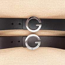 2019 ciartuar new belt for men women belt quality genuine leather cowskin trousers G buckle shining
