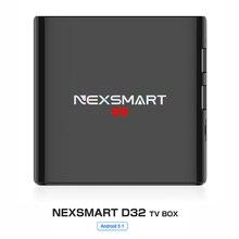 NEXSMART D32 TV Box 1G 8G Smart TV Box Quad-core Armcortex A7 Android 5.1 32bit 1080 P 4 k 2.4G WiFi Set Top Box Jugador Medier