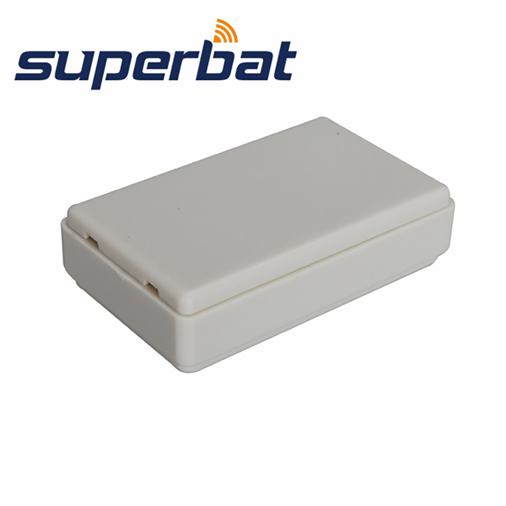 Superbat 10pcs White 15.5x35.5x58.5mm Plastic Electronic Project Box Enclosure Case DIY 0.61