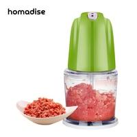 Homadise Electric Meat Cutter Mixer Household Multifunction Meat Grinders CookingTools Machine Milkshake Vegetable Cutter