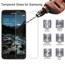 цена на Screen Toughed Protective Glass for Samsung Galaxy J5 16 J7 Prime 2  on J3 15 9H HD Tempered Glass for Samsung J730 J7 2017 EU